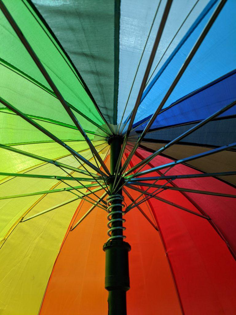 An image of an umbrella to represent umbrella companies.